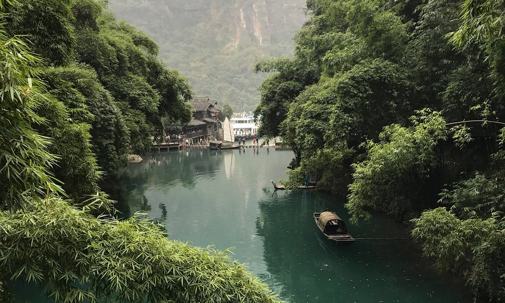 Beautiful view of Sanxia or The Three Gorges tribes