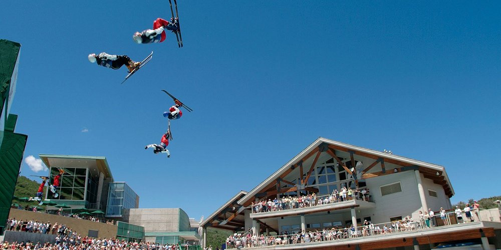 Flying Ace Show at Utah Olympic Park