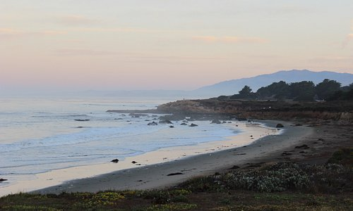 Early Morning on Moonstone Beach