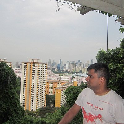 At Telok blangah park on the way.