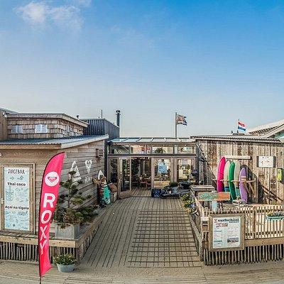 Welcome @ Hart Beach Quiksilver Surfschool | Surfshop | Food & Drinks | Events
