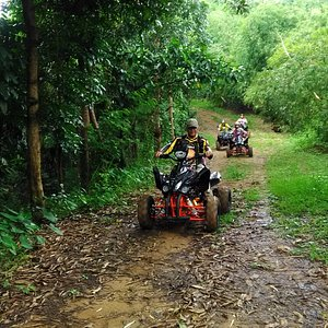 Tour 2: MARIKINA RIVER TOUR ADVENTURE  • This trail is pure adventure. It lasts between about 3