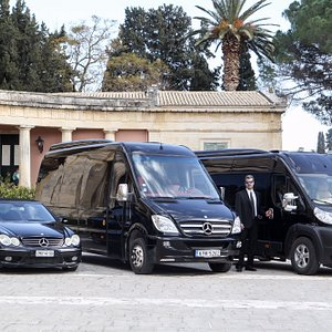 Join travelco luxurious and VIP Minibus and taxis for corfu airport transfers, tours & sightseei