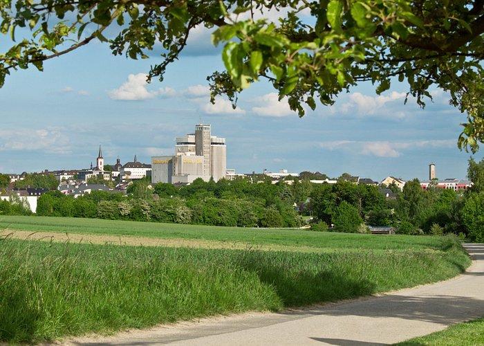 Panoramablick auf Bitburg