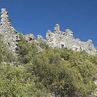 Die Reste der Stadtmauer