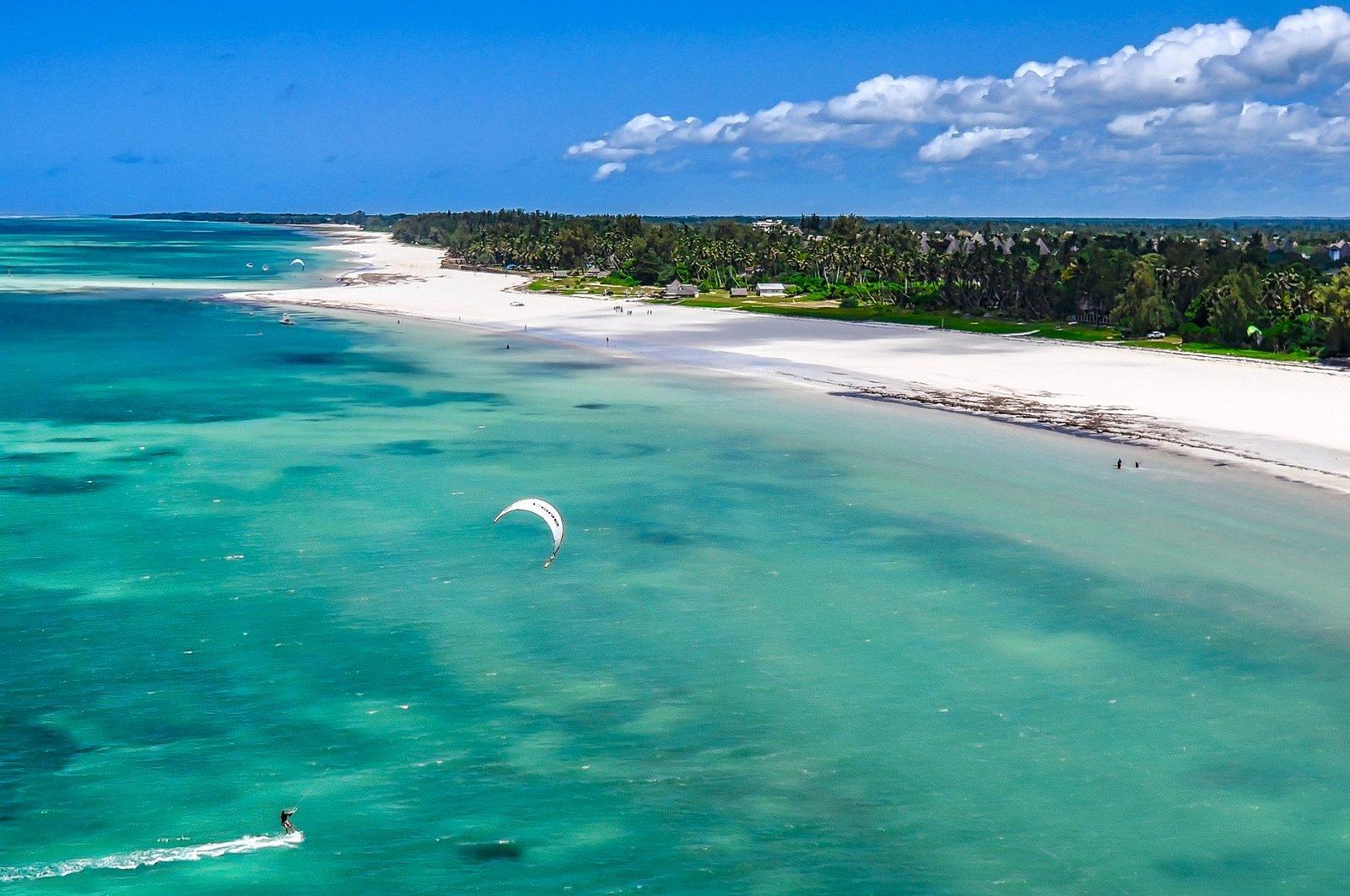 Paradisiac kite spot.