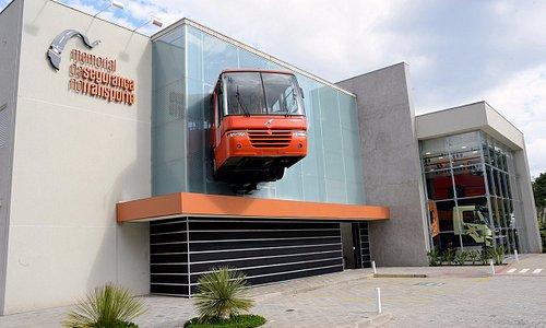 Fachada - Memorial da Segurança no Transporte