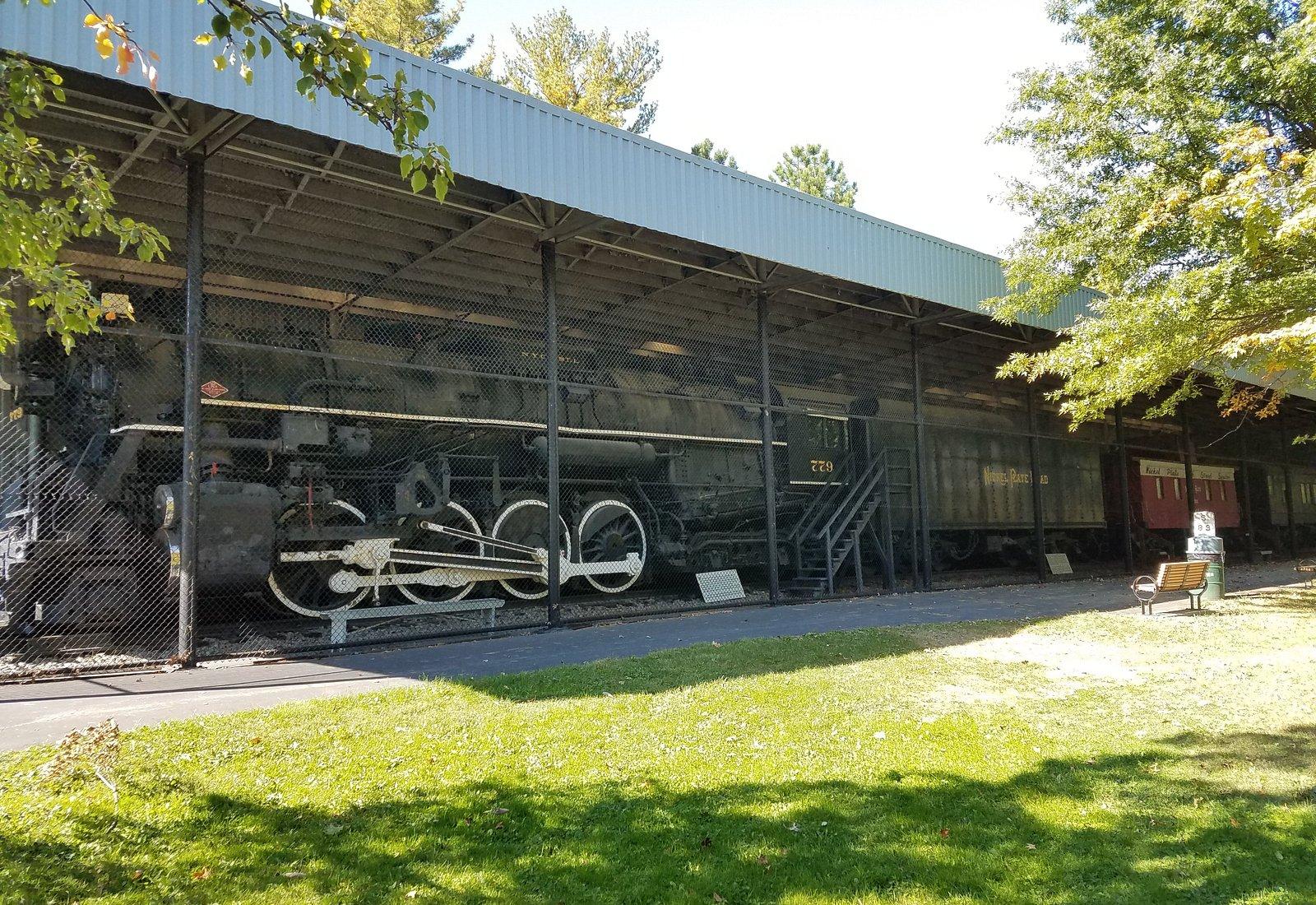 Lincoln Park Railway Exhibit