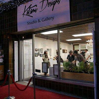 Katami Designs Exhibition Opening Evening