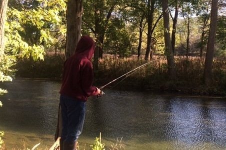 Fishing the river