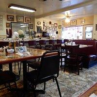 Inside Dinner Bell Cafe