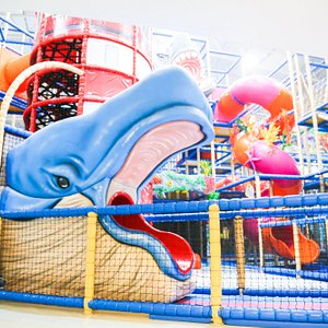 The largest indoor playground in ASIA