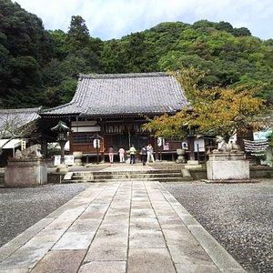 法輪寺本堂