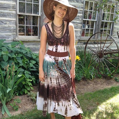 Fun and fashions at Turn of the Century Shop in a 110 year old farmhouse at Holiday Acres Resort