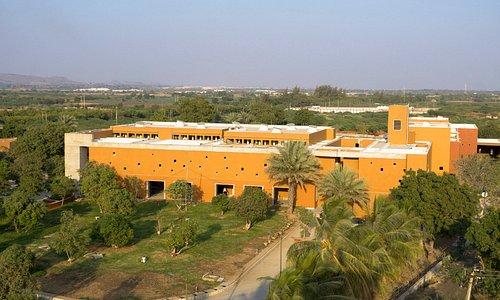 Arial view of Shrujan LLDC Campus