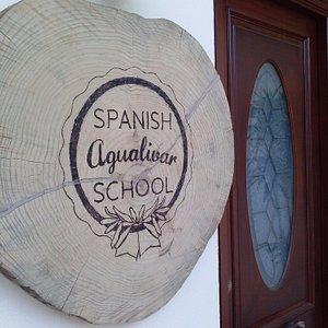 Nuestra entrada. Aquí empieza la inmersión en español :)
