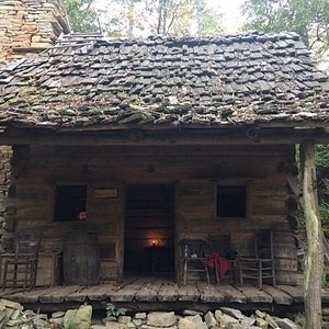 The Rogers Cabin; built in memory of the original land owners