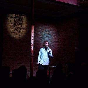 Big names, great comedy at Laugh Train Home