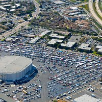Aerial Photo of the Swap Meet