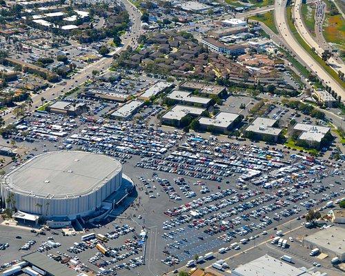 Aerial Photo of the Swap Meet