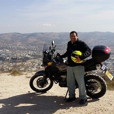 טיול שומרון, מול סביוני נאבלוס