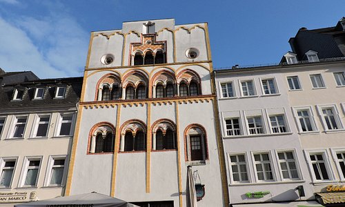 Dreikönigenhaus, Trier, Alemania.