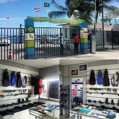 Acesso a loja da Shark Dive