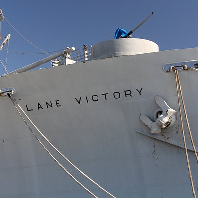 Bow of the SS Lane Victory
