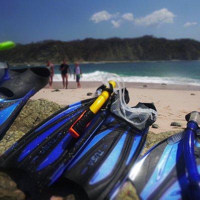 Pink Sand Island Snorkeling_Nosara