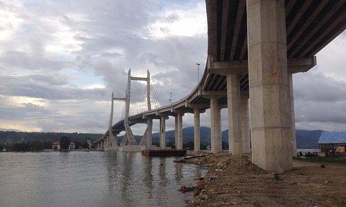 Merah Putih bridge, Ambon