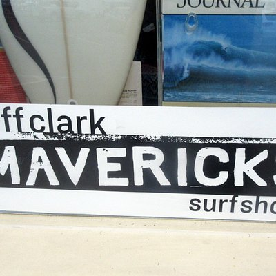 Mavericks Surf Shop, Half Moon Bay, CA