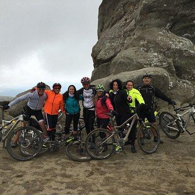 Babele Bucegi by bike