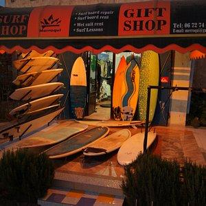 Merroqui surf shop