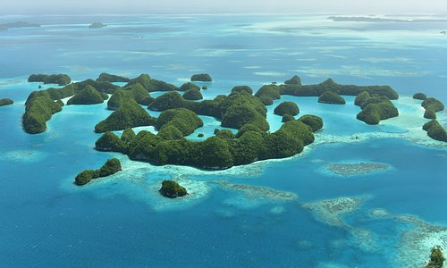 Beautiful 70 Islands, Taken from Smile Air Aerial Tour