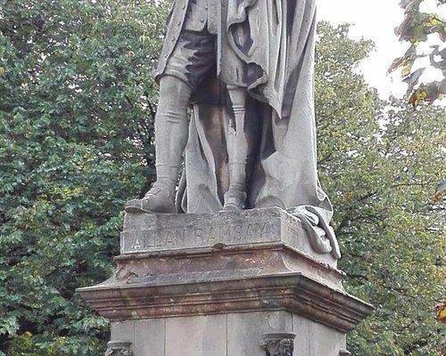 Allan Ramsey Monument