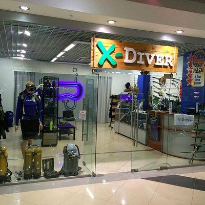 магазин подводного снаряжения X-DIVER