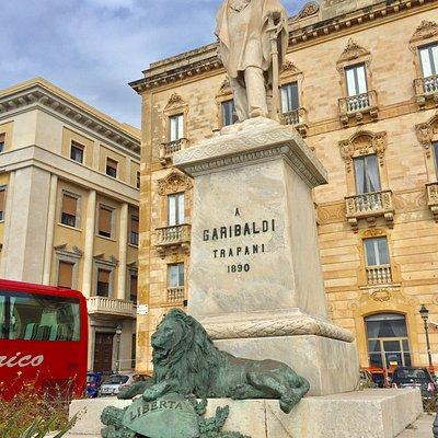 Statua Giuseppe Garibaldi