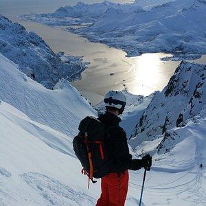 Ski and sail in Lofoten