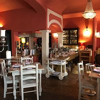 Great restaurant.. Pleasant atmosphere, very good food and decoration and exceptional service! W