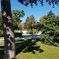 Bel parco nel centro della città