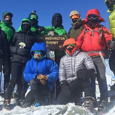 Summit of Mt. Washington; February 2016
