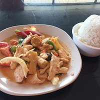 Chicken curry lunch special