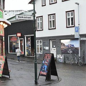 Freddi is located right off of Laugarvegur, Reykjavík's main shopping street