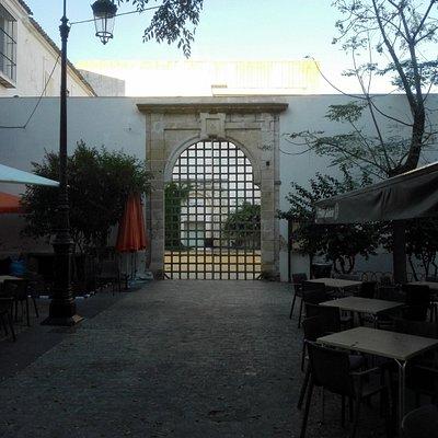 Vista de la entrada