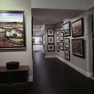 Art Displayed Changed Regularly
