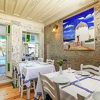 BarbaVasilis Greek Taverna Santorini Room