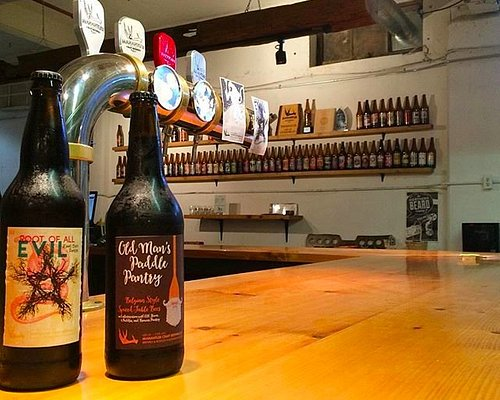 Root of All Evil Root Beer Porter and Old Man's Paddle Pantry (collaboration brew)