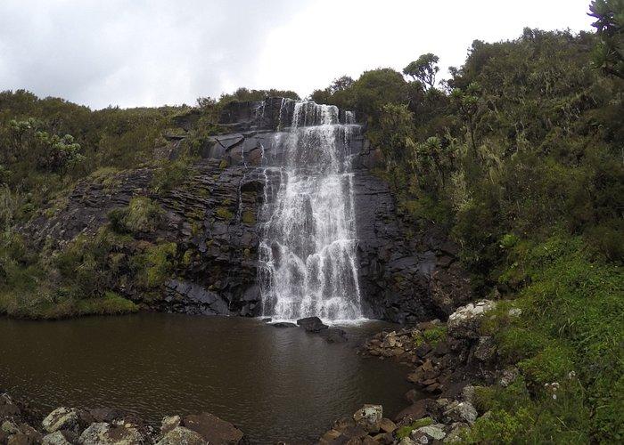 The falls at Supper Hut
