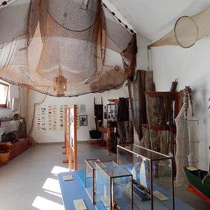 Ribiški muzej - Fishermen museum, main room