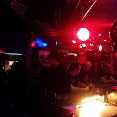 Very cool, very tiny, and very smoky metal bar.